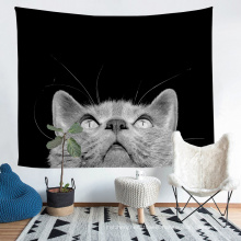 Animals Pattern 3D Printed Tapestry