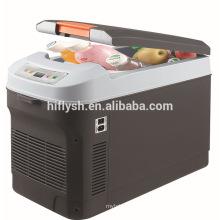 HF-22L (103) DC 12 V / CA 220 V 55 W refrigerador del coche refrigerartor caja de refrigeración del coche mini refrigerador portátil del coche (certificado del CE)