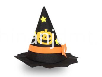 black brim witch hat