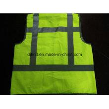 Жилет безопасности Жидкость Y Желтый Стандарт 100% Полиэстер