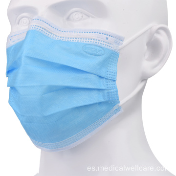 Mascarilla médica quirúrgica disponible al por mayor de 3 capas