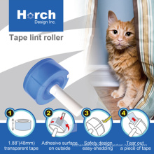 Manufacturer sticky tape lint roller with sticky tape clothes use