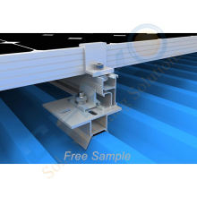 New Design Trapezoidal Clamp For Metal Roof Clamps Solar mounitng system In Stock