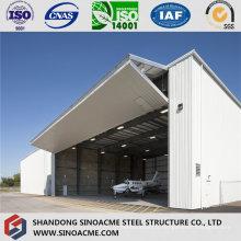 Hangar d'avions de structure métallique de fabricant professionnel