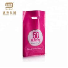 2016 Китай лучшие продавая дырокол ручка изготовленный на заказ пластичный мешок подарка для Покупкы