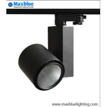 High CRI 95ra utilisé dans Shop COB LED Track Lighting