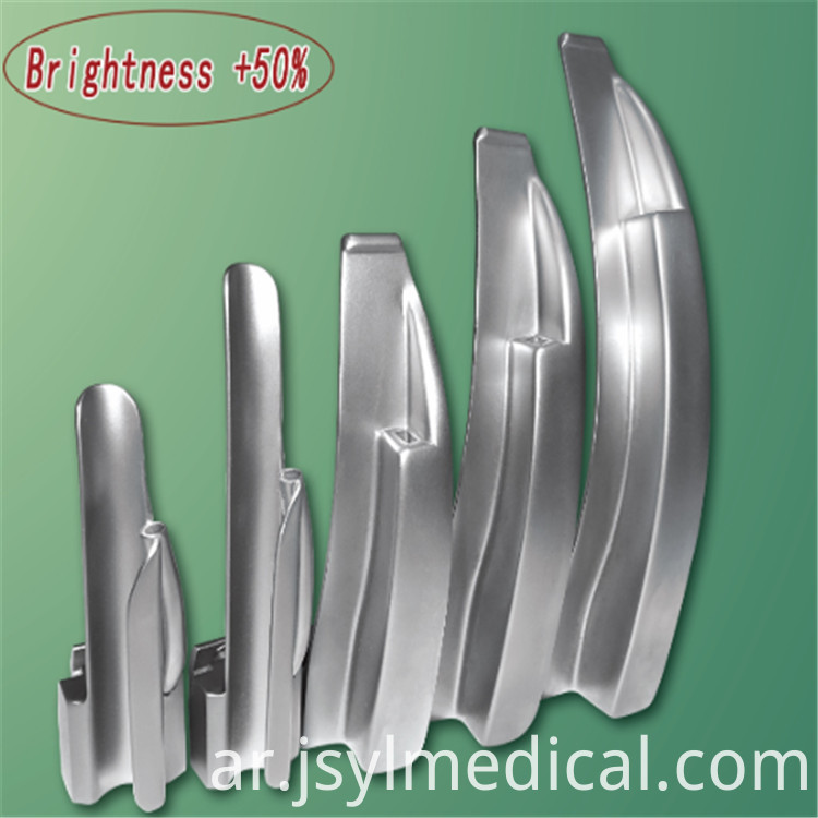 Optical Fiber Reusable Laryngoscope