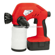 Wireless 18V Ni-Cd Battery Powered Rechargeable Electric Portable Handheld Paint Painting Sprayer Cordless Spray Gun