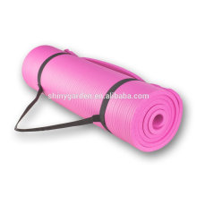 Cheap Decorative Round Basics Exercise Mat With Carrying Strap