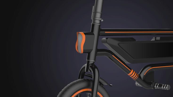 D1 Electric Bike Black09