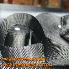 Cinta de tela de carbono con armadura plana para mástiles y spares