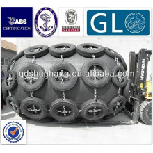 GL / BV / CCS certificat pneumatique flottant navire caoutchouc d fender
