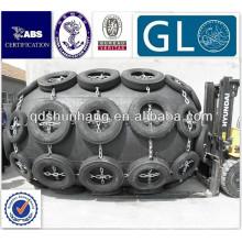 GL/BV/CCS certificate pneumatic floating ship rubber d fender