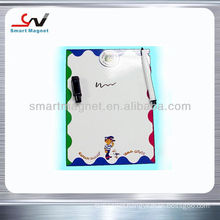 Promotional magnetic board magnet with pen holder