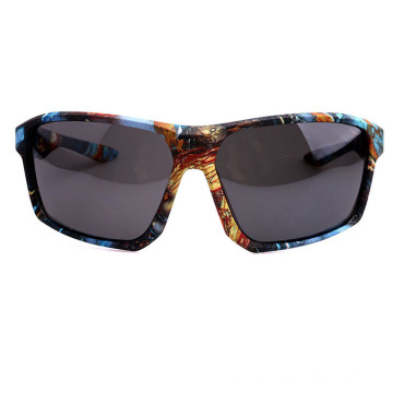 Colored Sports Sunglass with Paper Tranfer