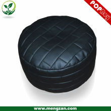 Black novel bricky bean bag ottoman , unique fantastic bean bag ottoman