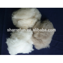 pure dehaired white,light grey,brown cashmere spinning fiber