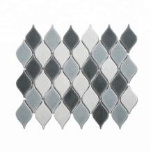 Soulscrafts Arabesque Ceramic Mosaic Tile for Bathroom Wall