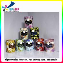 Cajas de embalaje de papel de velas de alta moda fragancia
