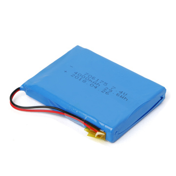 Batterie Lipo 706175 7.4V 4000mAh finement traitée