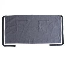 Фартук из джинсовой ткани с завышенной талией