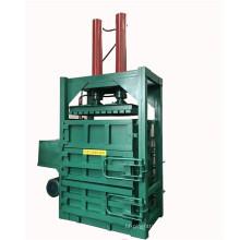 Recycling baler machine waste carton papers cardboard pressing baling machine