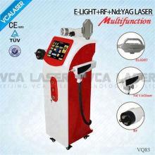 Multifuncional melhor para remoção de tatuagem Nd: YAG laser