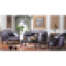 Sofá da tela da sala de visitas para a mobília home de madeira (D535)