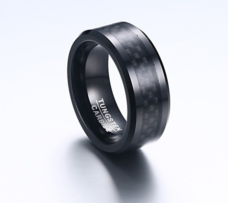 tungsten carbon fiber ring
