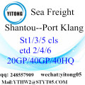 Shantou Warehouse Service nach Port Klang