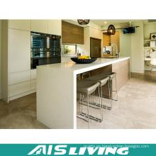 Muebles del gabinete de la cocina de la fibra de China para el proyecto (AIS-K178)