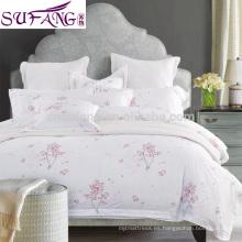 2017 Amazon Hot Sale China Supplier 100% algodón exótico juego de cama de lujo
