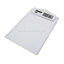 8 chiffres Fancy A4 Size Plastic Clipboard Calculator