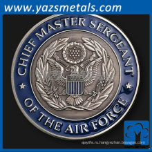 подгоняйте металл монеты, командующий ВВС монета