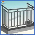 Gute Qualität feuerverzinkter Balkon Zaun