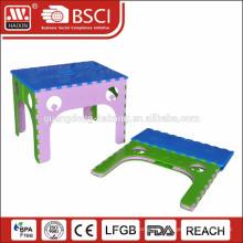 Mini plastique pliante table pour extérieur intérieur