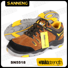 PU/Rubber Outsole Low Cut Safety Shoe with Steel Toe (SN5518)