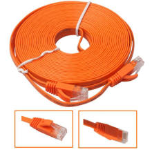 Cable de conexión plana Ultra Ethernet CAT5E