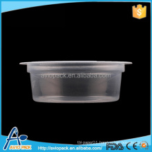 Eco-friendly 65ml food packaging plastic cup for jelly
