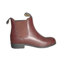 leather upper kids riding boots