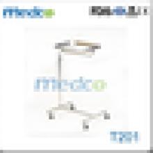 Moderno quente venda aço inoxidável hospital carrinho de carrinho de maio T201