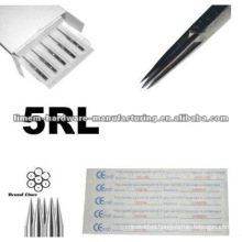 High Quality 316L surgical steel made Liner tattoo needles for professional only