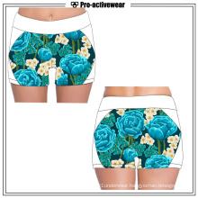 Women′ss Sexy Custom Sports Skin Tight Fitness Compression Shorts
