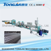 Uniaxial and Biaxial Geogrid Machine