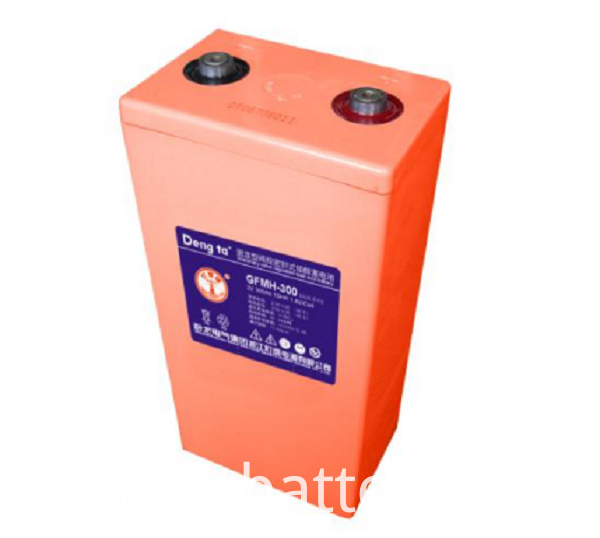 Valve Controlled Sealed Battery, Without Maintenance Battery, High Temperature Lead Aicd Battery