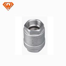 """Válvula de retención tipo CF8 de acero fundido vertical de 2 """""""