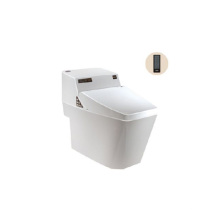 Toilettes intelligentes occidentales portatives standard sanitaires intelligentes avec siège de toilette automatique