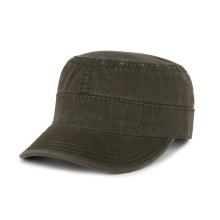 gorras de estilo militar en blanco