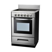 Lleno de acero inoxidable de alta calidad eléctrica estufa con horno