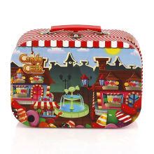 Wholesale portable cute decorative beautiful cardboard suitcase storage box